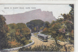 Cape-Town - Bend In Kloff Road With Tram - 1927    (170311) - Südafrika