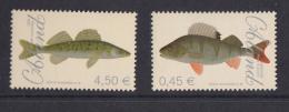 Aland MNH 2008 Set Of 2 Fish:  European Perch, Zander - Aland