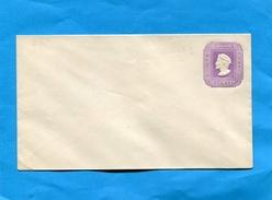 "CHILI-Enveloppe Entier Postal""5 C Violet  -Colomb--neuf ***années 1890-1895 - Chile"