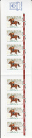 Aland MNH 2008 Booklet Picture Postage - Rider On Horseback, Winter - Aland