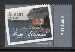 Aland MNH 2009 Honeymoon Cabin, President Martti Ahtisaari - Iles