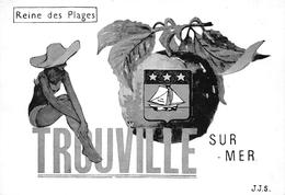 TROUVILLE-SUR-MER- REINE DES PLAGES - Trouville