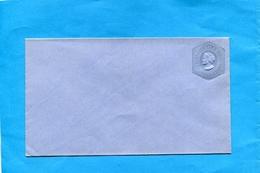 """CHILI-Enveloppe Entier Postal""""10  C Bleue  -Colomb-gaufrée-neuf ***années 1890-1895 - Chile"""