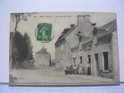 45 - DRY - LA ROUTE DE CLERY - ANIMEE - 1911 - Frankreich