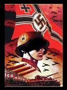 Militaria WW2 - Photo Affiche De Recrutement Pour La  SS - - 1939-45