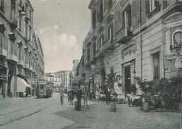 """Portici Nel Tempo Andato """" Corso Garibaldi E Gran Caffè Poli """" - Portici"""