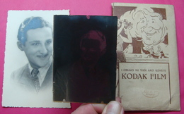 KODAK ADVERTISER PHOTO AND NEGATIVE. YUGOSLAVIA PRIZREN - Glasdias