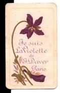 Carte : Je Suis La Violette De J.DAVER PARIS - Cartes Parfumées