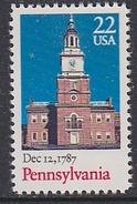 USA 1987 Pennsylvania 1v  ** Mnh (35119C) - Nuovi