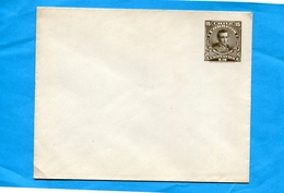"CHILI-Enveloppe Entier Postal""15C BrunCARRERA-neuf ***années 1895-1900 - Chile"