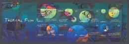 Nevis 2000 Fishes Kleinbogen (2) MNH__(FIL-7368) - St.Kitts E Nevis ( 1983-...)