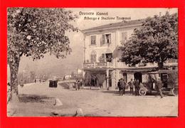 A207  DRONERO S. DAMIANO MACRA -  CUNEO - SERVIZIO AUTOMOBILISTICO E POSTALE - FP V 17.10.1940 BELLA RARA!! - Cuneo