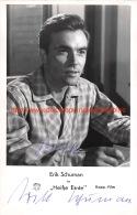 Erik Schuman - Autographes