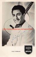 Vico Torriani - Autographes