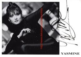 Yasmine - Autographes