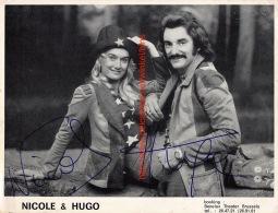 Nicole & Hugo - Autographes