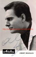 Jimmy Makulis - Autographes