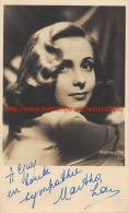 Martha Love - Autographes