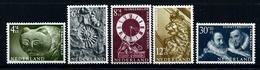 Nederland 1962: Zomerzegels, Museumstukken** MNH - Nuovi