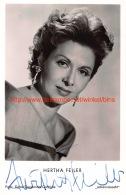 Hertha Feiler - Autographes