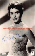 Barbara Rutting - Autographes
