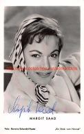 Margit Saad - Autographes