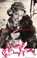 Eva-Ingeborg Scholz - Autographes