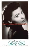 Edith Mill - Autographes
