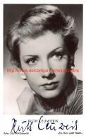 Ruth Leuwerik - Autographes