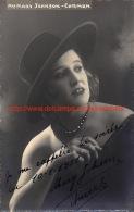 Mary Johnson - Carmen - Autographes