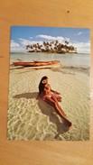 BEAUTE DES ILES Carte Postale Neuve Années 70 Très Bon état Dos Partagé - Polynésie Française
