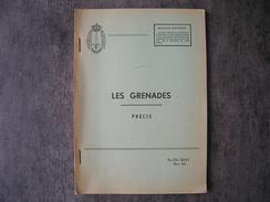 """Livre Sur Les Grenades Belges """" Novembre 1963 """" - Armes Neutralisées"""