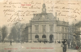 PARIS SERIE TOUT PARIS MAIRIE DU XXem - Arrondissement: 20