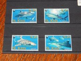 St.Kitts 2007 Tiger Shark MNH__(TH-3583) - St.Kitts E Nevis ( 1983-...)