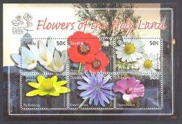 Tuvalu 2008 Flowers Kleinbogen MNH__(THB-5933) - Tuvalu