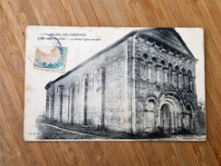 CPA 17 SAINT-MARTIN D'ARY   La Vieille Eglise Romane, - Altri Comuni