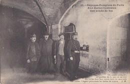 PARIS 1er  HALLES Centrales  SAPEUR POMPIER  GARDIEN De La PAIX  FORT Des HALLES Ronde De FEU Boîtes De Repaire 1911 - District 01