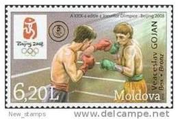 Moldova 2008 Olympic Games Beijing OVPT 1v MNH - Summer 2008: Beijing