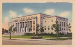 Indiana Hammond City Hall Curteich - Hammond