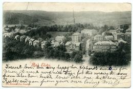 ALLEMAGNE : BAD ELSTER / POSTMARK - CLEVEDON, SOMERSET, ENGLAND 1900 - Bad Elster