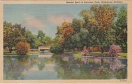 Indiana Hammond Beauty Spot In Harrison Park 1958 Curteich - Hammond
