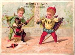 5Trade Cards Chromo FENCING ESCRIME FECHTEN Pub GORLITZER Olympiade 1928 Pin Up Gaulon Paris - Escrime