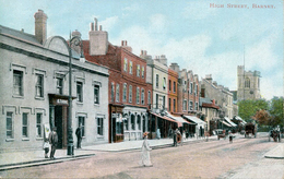 LONDON - BARNET HIGH STREET 1906  Lo1125 - London Suburbs