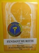 3669 - Suisse Valais Fendant Les Murettes Réserv Panathlon-Club Oberwallis Visp - Etiquettes