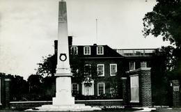 LONDON - HAMPSTEAD - WAR MEMORIAL & HEATH HOUSE  RP  Lo1167 - London Suburbs