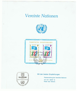 30 Jahre UNO, New York, Gedenkblatt 1975. - New York - Hoofdkwartier Van De VN