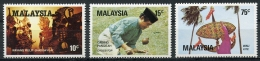 Malaysia, 1982, Games And Sports, MNH, Michel 245-247 - Malesia (1964-...)