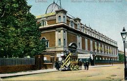 LONDON -  MADAM TUSSAUDS, MARYLEBONE ROAD 1905 - STOKE NEWINGTON SQUARED CIRCLE  Lo1114 - London Suburbs