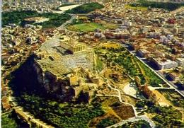 Atene - L'acropoli Come Vista Dal Aereo - 1024 - Formato Grande Non Viaggiata – E1 - Grecia