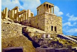 Athens - Acropolis - Propylaeo - 3 -  Formato Grande Non Viaggiata – E1 - Grecia